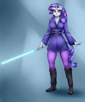 Commission - Jedi Rarity by Pia-sama