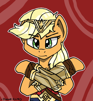 Applejack the Wonder by TheClassicThinker