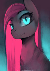 Blue And Pink (57/366) by FoxInShadow