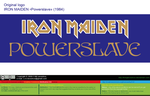 Iron Maiden Powerslave 1984 (Logo) [vector source] by OlegLevashov