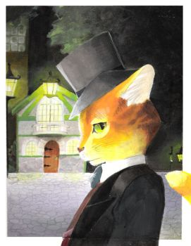 The Cat Returns by alice-top