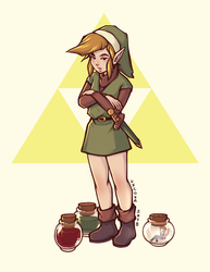 A Link to the Past by oxcoxa