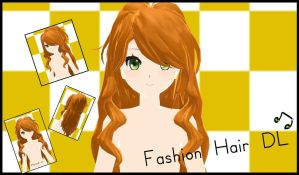 MMD-Fashion Hair DL by ThisisKENZ