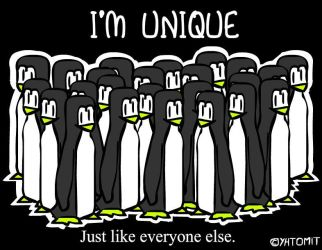 Unique Penguins by timsplosion