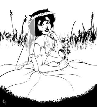 Bride by silent-fish