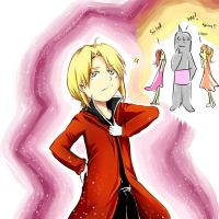 I am the fullmetal alchemist! :3 by Angelic-Alchemist