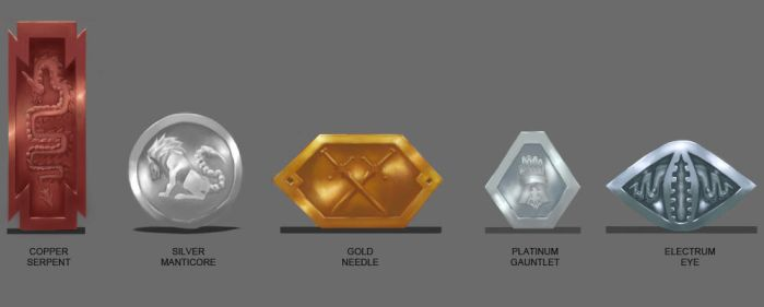 DnD coin concepts by Ryorion