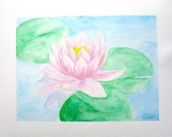 Water lily by Lucyndaria