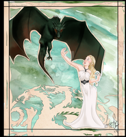 GoT: Mother of Dragons by Ai-hime