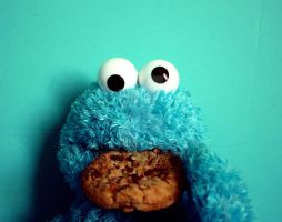 Cookie Monster 2 by ZoeWieZo