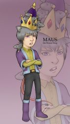 -SD- Maus the Mouse King by silentsketcher