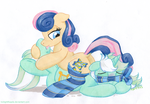 Playing the Lyre by TwilightFlopple