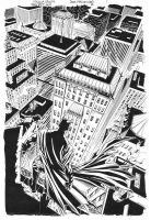 SECRET SIX #2 Batman TITLE SPLASH Scott/Hazlewood by DRHazlewood