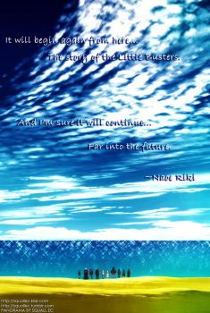 An end to begin -ver Little Busters- by SquallEC