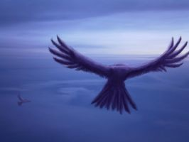 Fly the winds above by CJangel