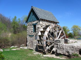 Old Mill - Front by MapleRose-stock