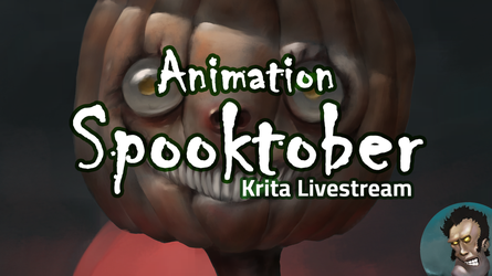 Krita Spooktober Animation Livestream 7pm UTC by MarTs-Art