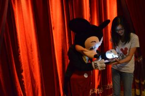 Mickey signs the iPad by GamerGirl14