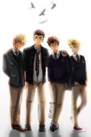 The Raven Boys by allarica
