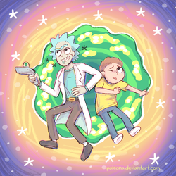 Rick and Morty by Paleona