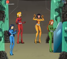 Comm - Totally Spies Mutant Investigations by dlobo777
