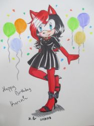 Happy Birthday Karin by CuteArtStyleKitty