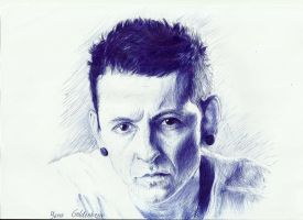 Chester Bennington by ItsMyUsername
