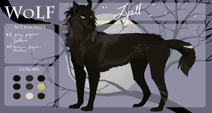 WoLF | Lyall | Howahkan | Beta Awoo' by Copperhaven