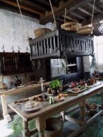 Tudor kitchen 1 by buttercupminiatures