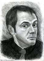 Crowley (charcoal) by SpiritusChaos