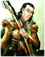The God of Mischief by Ciorane