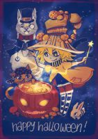 Ponchalloween 2014 by Ponchounette