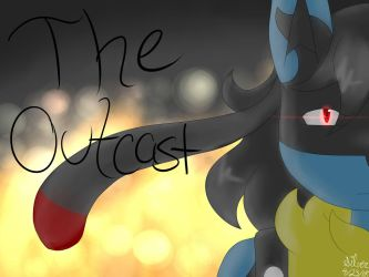 The Outcast Cover (updated!) by Silversan-Art