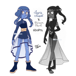 [PAYPAL AUCTION] Lapis Lazuli + Black Pearl - OPEN by iiPocket