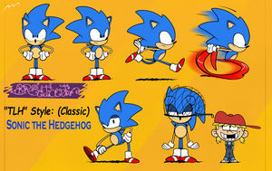 TLH style (Classic) Sonic The Hedgehog by BRSstarJV