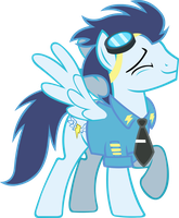 Officer Soarin' by Alexstrazse