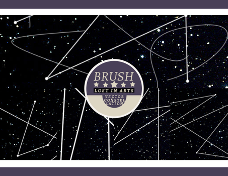Lost in Arts Vector Constellation Brush by Lost-in-Arts