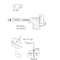 DToFF Gun and Grenade Concept by manomow
