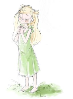 Hagu-chan Honey and Clover by indigofox