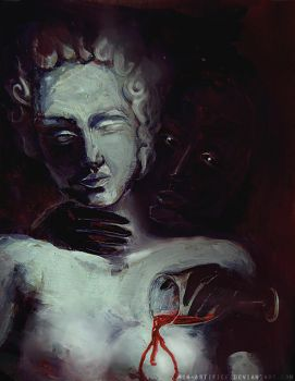 The tempter by Mon-artifice