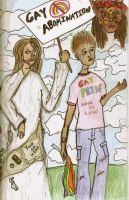 The Man Next to Me is Not My Jesus by SavvyRed