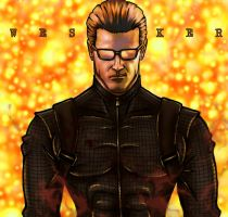 Albert Wesker by CODE-umb87