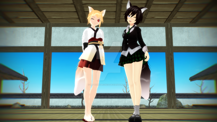 MMD Profiles: Reodasu and Ari by MaylunaBrokeit