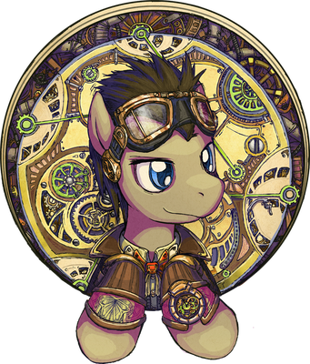The Clockwise Time Lord by saturnspace