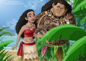 Moana by rebenke
