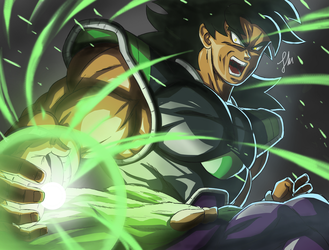 Broly Attack! 2018 by zala77s