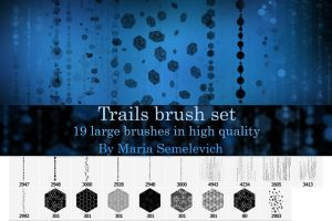 Trails brush set by MariaSemelevich