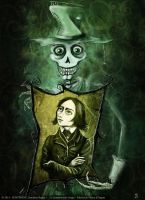 Death and Franz Liszt by senyphine