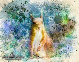 Queen of Squirrels by Cundrie-la-Surziere