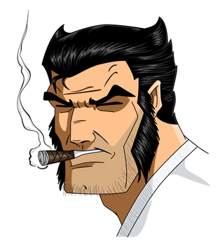 Logan portrait (animated) by TonyZeller-614